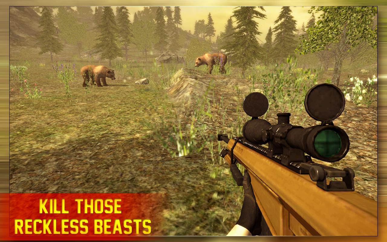 Animal Hunting Sniper 2017- screenshot
