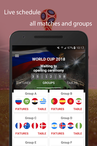 World Cup 2018 Live Scores & Fixtures 2.0.1 screenshots 2