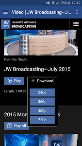 JW Broadcasting screenshot 1