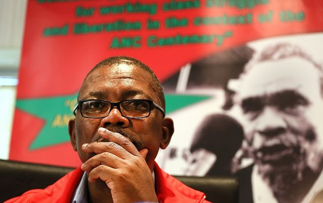 Cosatu acting general secretary Bheki Ntshalintshali. Picture: THE TIMES