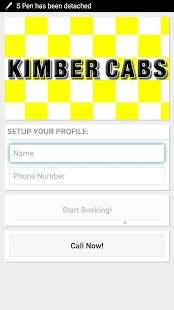 Kimber Cabs- screenshot thumbnail