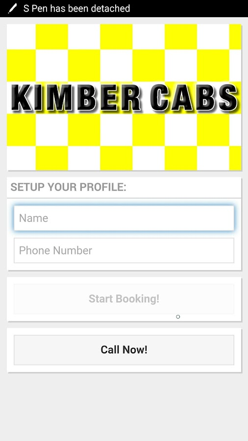 Kimber Cabs- screenshot