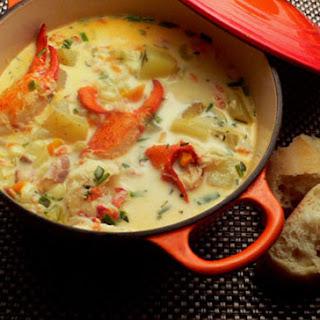 Nova Scotia Lobster Chowder Recipe