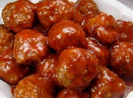 Mommom's Sweet & Sour Meatballs Recipe