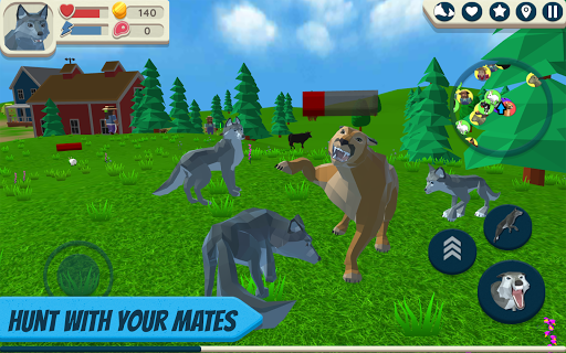 Wolf Simulator: Wild Animals 3D 1.047 screenshots 7