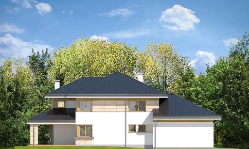 Dom z widokiem 3 F - Elewacja lewa