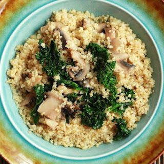 Kale & Mushroom Quinoa