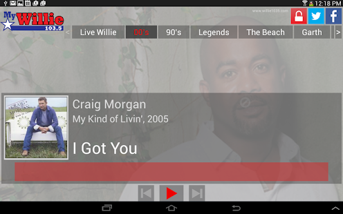 myWillie 103.5- screenshot thumbnail