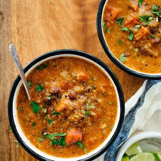 Mexican Quinoa Stew.