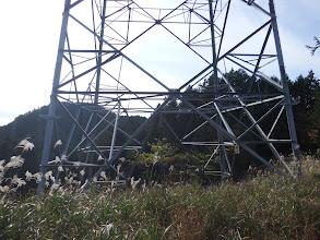 唐突に鉄塔に出る