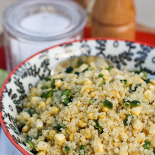 Fresh Corn and Quinoa Salad.