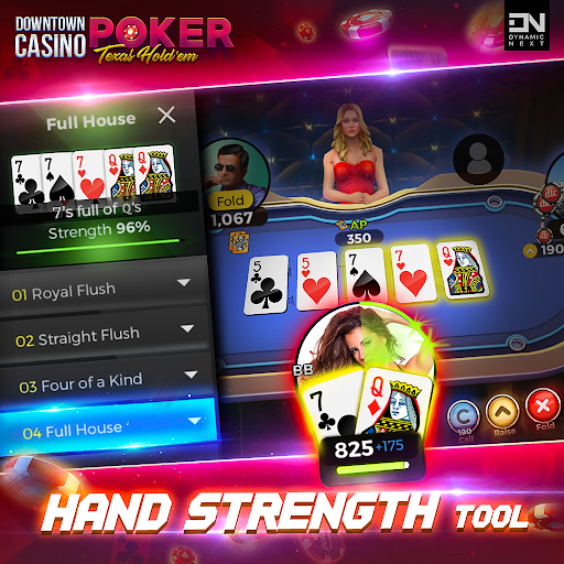 Free Poker Games : Downtown Casino - Texas Holdem  screenshots 4