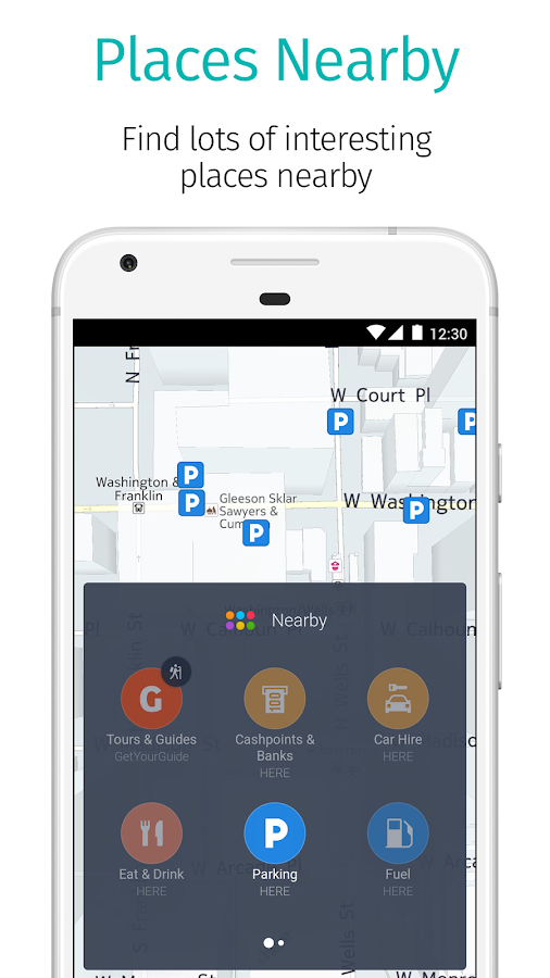 HERE WeGo - Offline Maps & GPS- screenshot