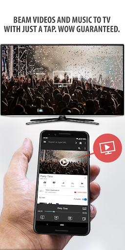 Tubio - Cast Web Videos to TV, Chromecast, Airplay screenshot 1