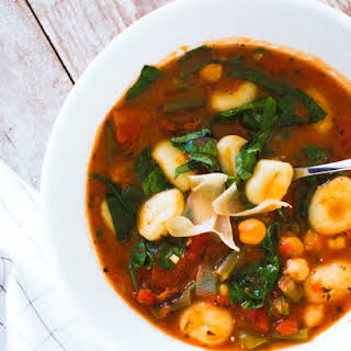 Italian Vegetable and Gnocchi Soup.