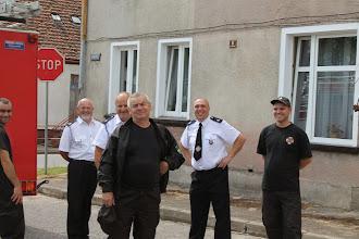 Photo: Die Straz( Feuerwehr Tychowo)- auch die Herrschaften fanden es sehr schön.