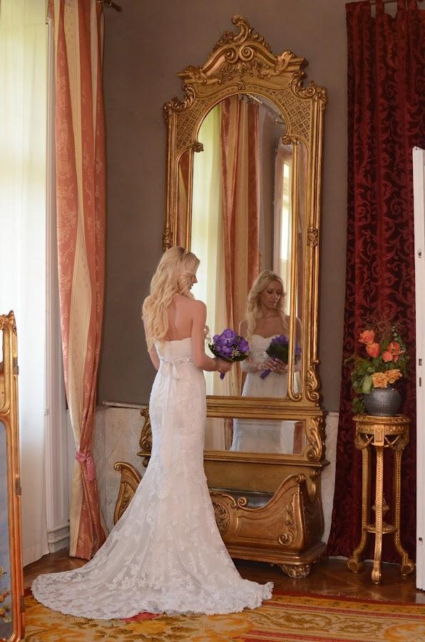Mirror by Sasa Rajic Wedding Photography - Wedding Bride