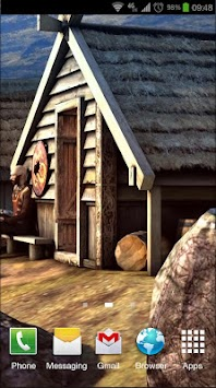 Vikings 3D LWP APK screenshot thumbnail 6