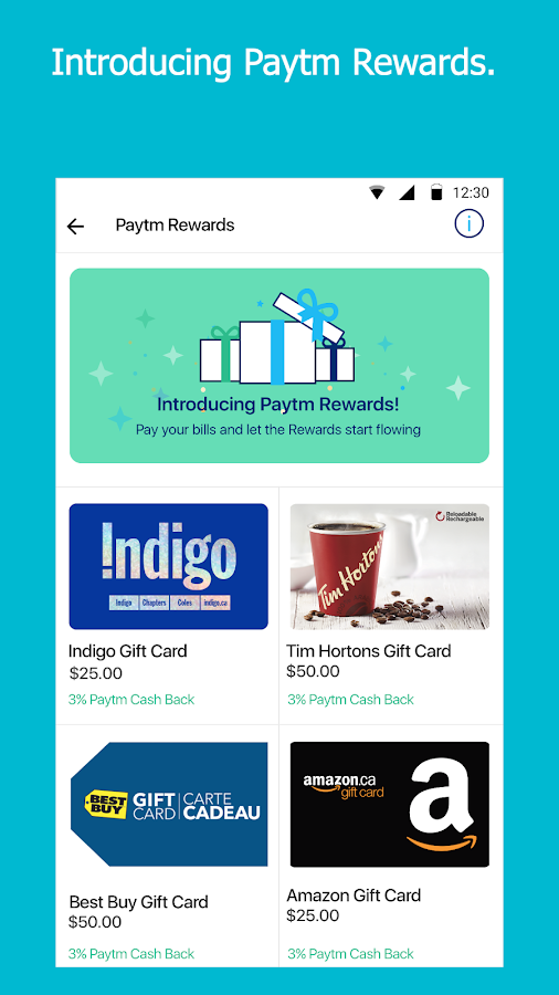 Paytm - Pay Bills in Canada- screenshot