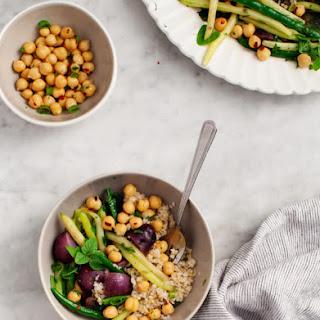 Green Bean & Purple Potato Salad