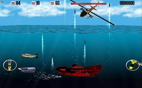 Helicopters vs Submarines - War Machines Battle- screenshot thumbnail