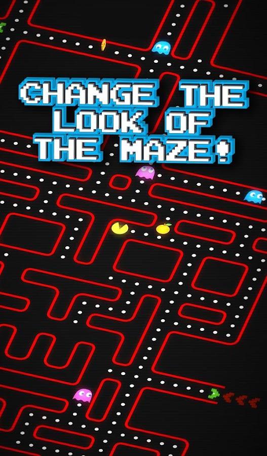PAC-MAN 256 - Endless Maze- screenshot