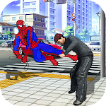 Crime Fighter Spider Hero Icon