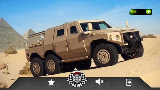 4x4 Off Road Army Truck Driving Desert Games 2018 ss1