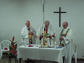 Photo: Plechtige opening van de cursus voor kaderleden van het bisdom Paramaribo