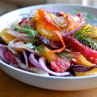 Fennel, Beet, And Blood Orange Salad