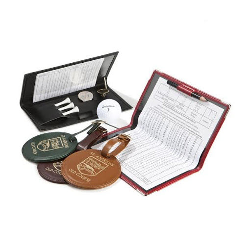 Custom Branded Leather Golf Assessories