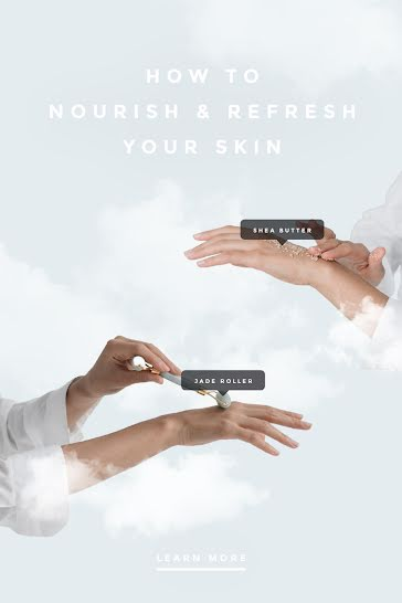 Refresh Your Skin - Pinterest Pin template