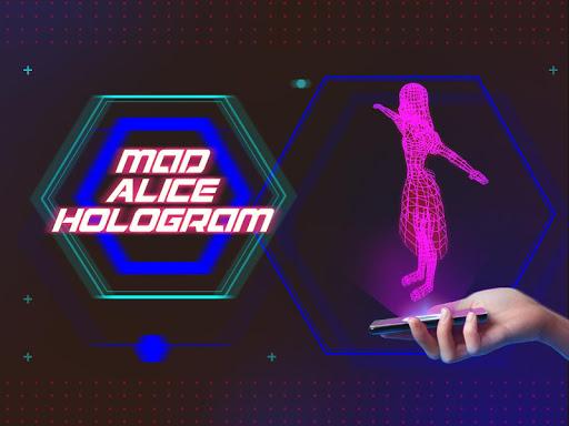 Mad Alice Hologram