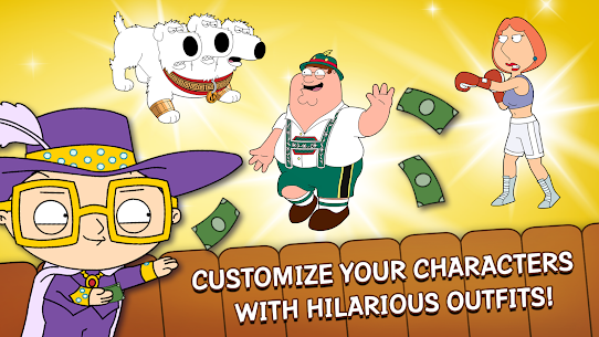 Family Guy The Quest for Stuff MOD APK 4.1.2 (Free Shopping) 4