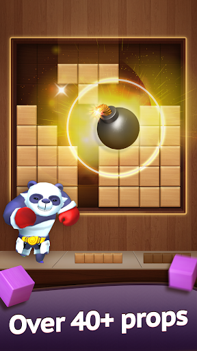 Hello Block - Wood Block Puzzle android2mod screenshots 1