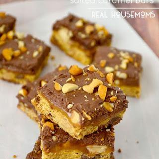 Peanut Butter Salted Caramel Bars