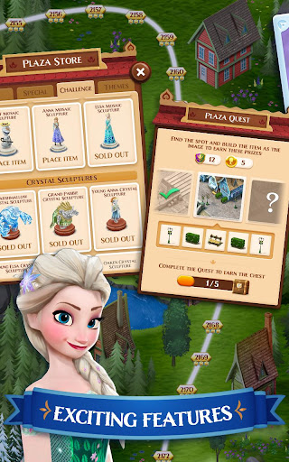 Disney Frozen Free Fall - Play Frozen Puzzle Games filehippodl screenshot 2