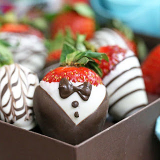 Chocolate-Covered Strawberries Five Ways.
