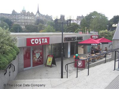 Costa On Waverley Bridge Coffee Shops In Old Town