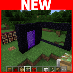 Magical portal. Map for MCPE
