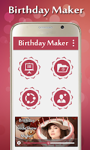 Birthday Video Maker screenshot 0
