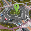 GPS Traffic Driving Route Finder Map Direction Fre