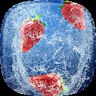 Erdbeere Live Hintergrund icon