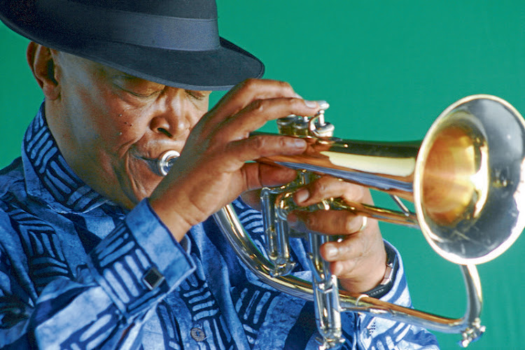 Hugh Masekela's protest music reverberated in the capitals of newly liberated Africa as well as in international cultural centres. Picture: THE SOWETAN
