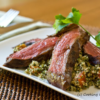 Grilled Steak Tabbouleh Salad.
