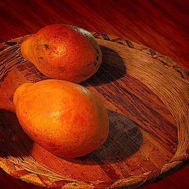 Mango Basket by Joseph Vittek - Food & Drink Fruits & Vegetables