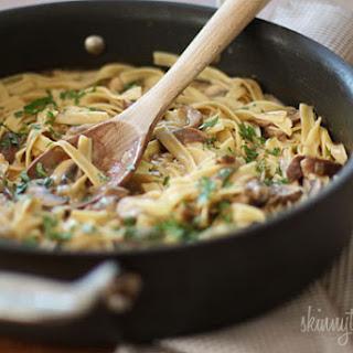 Cooking Light Mushroom Stroganoff Recipes