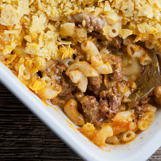 Macaroni And Cheese Tomatoes Ground Beef Recipes
