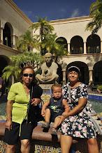 Photo: San Diego - Balboa Park - Mexican style courtyard