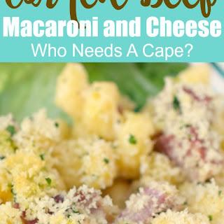 Corned Beef Macaroni and Cheese Recipe